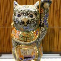 6G招き猫(黒盛宝船左手)