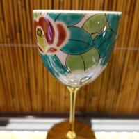 ワインカップ(山茶花赤)