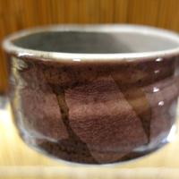 抹茶碗(銀彩 紫)