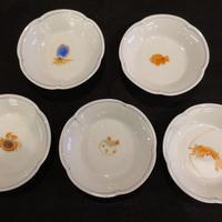 小皿揃え(梅型海の幸)