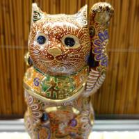 5G招き猫(赤盛左手)