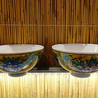 仙春窯夫婦飯碗(吉田屋小)