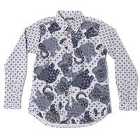 MIX FLOWER ELEPHANTOG REG L/S SHIRTS