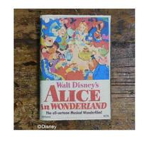 DCR-014文庫本ブックカバー 不思議の国のアリス