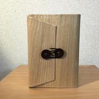 北海道タモ ブックカバー文庫