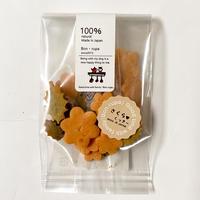 【Bon・rupa /ボン・ルパ】米粉クッキーシリーズ  お魚くっきー/さくらくっきー/ぼたんくっきー/ころりんおむすび