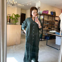 【Finamore】linen shirt