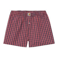【Carhartt WIP /カーハートウィップ】COTTON BOXERS - James Check, Etna Red I029-372