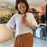【siro シロ】 Tee (Tシャツ)offwhite/greyge/kaki/black