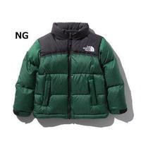 【The North Face】 Nuptse Jacket  KIDS(ヌプシジャケットキッズ)ナイトグリーン(NG) NDJ91863 150