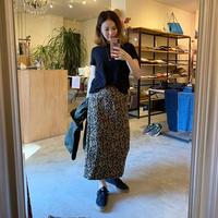 【siro シロ】leopard skirt(レオパードスカート)