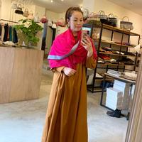 【mieyamieya ミエヤミエヤ】20AW collection  brown