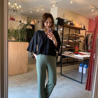 【Bed&Breakfast ベッド&ブレイクファースト】Dry Stretch Pants in Olive