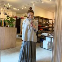 【siro シロ】yak feel knit  (ヤクフィールニット)grey