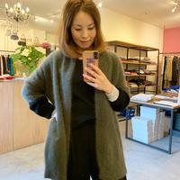 【EN'DAY】knit cardigan (ニットカーディガン)khaki/beige