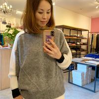 【EN'DAY】knit wear (ニット)grey/khaki/black