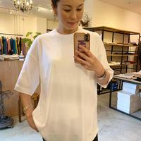 【Greed International グリードインターナショナル】Technorama rib Tshirt (テクノラマリブティーシャツ)white/black