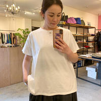 【siroシロ】soft cotton tee(ソフトコットンティー))white/black