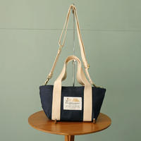 【Bed&Breakfast】Sail Cloth Shoulder Bag Small