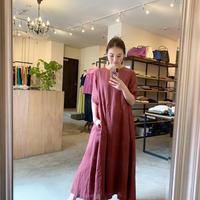 【CLOCHE】linen onepiece
