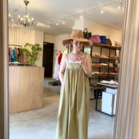 【Bed&Breakfast ベッド&ブレイクファースト】Militaly Satin Onepiece