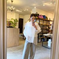 【CLOCHE クロシェ】sheer blouse(シアーブラウス)