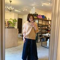 【CLOCHE クロシェ】プリーツパンツ