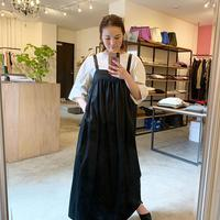 【Bed&Breakfast】Militaly Satin Onepiece
