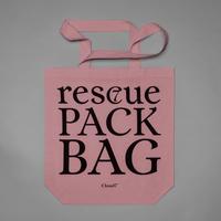 【Cloud7/クラウド7】RESC7UE Tote Bag   (レスキュートートバッグ)DustyRose/Nature/DustyGrey