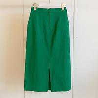 【CLOCHE クロシェ】Color Skirt (カラースカート)Green