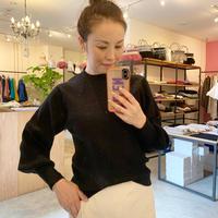 【Banner Barrett バナーバレット】bottleneck knit (ボトルネックニット)beige/purple/black