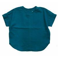 No.K069(G) 胸ポケットプルオーバーシャツ/ブルーグリーン