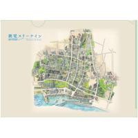 『銚電スリーナイン』クリアファイル(地図)