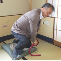 「スタンバーチコ」 立ち上がり補助手すり【組立不要】 日本製