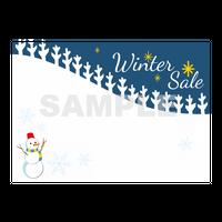 【POPテンプレート】Winter Sale