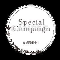 【POP素材】Special Campaign〜まで開催中!