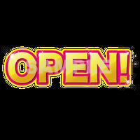 【POP素材】OPEN!