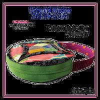 カテドラルウィドウ・バラの窓のバッグ Cathedral window Baroque Window Bag