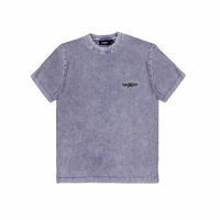 WASTED/T-Shirt Faded Signature Faded Purple