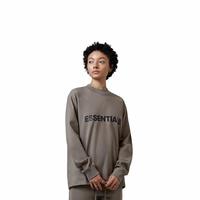 NEW FRONT LOGO LONG SLEEVE T-SHIRT / ESSENTIALS