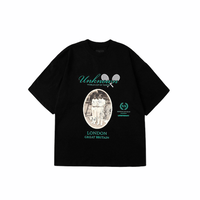 unknown/BLACK TENNIS TEE