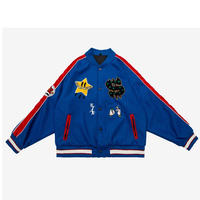 WOOLEN BASEBALL JACKET