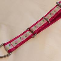 リミテッドチョークカラー(ピンク×白イチゴ)Lサイズ