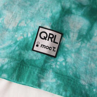QRL × mocT「タイダイ柄Tシャツ」(グリーン)