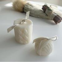 〜knit〜ニットキャンドルセット