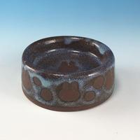 【P051】うさぎ水玉模様のうさぎ様用食器ミニ(淡水・赤土・うさぎ印)