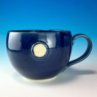 【M160】エンブレムマグカップ大(ネイビー・うさぎ印)