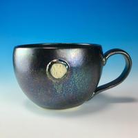 【M161】エンブレムマグカップ大(銀彩・うさぎ印)
