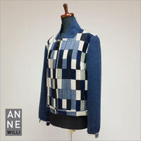 【SALE】Anne Willi〈アンヌ・ウィリ〉/ジップアップ ブルゾン【WAGRAM JACKET】