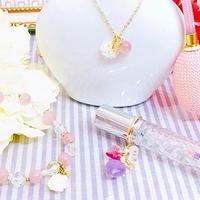 Roseブレスレット&ネックレス・BerryRoseフェロモン香水ミストのセット